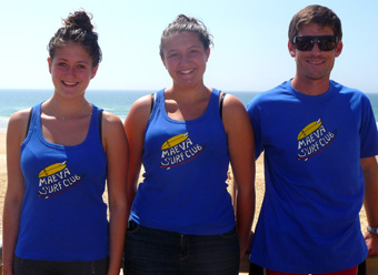T-shirts Maeva Surf Club